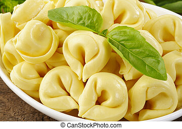 tortellini - close up of tortellini