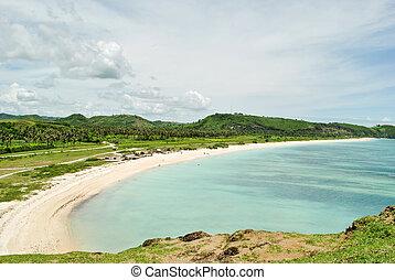 South Lombok beach Tanjung Aan