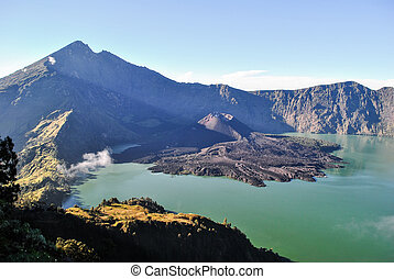 Rinjani mountain in Lombok - Magnificent Rinjani mountain in...