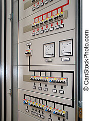 Cabinets - Electrical front  panel equipment