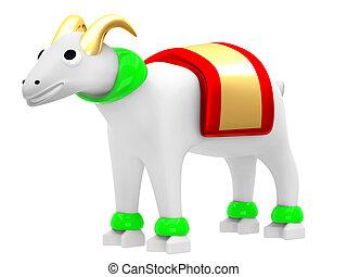 Illustration of a goat