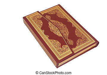 The holy koran - The quran book cover Classic book cover The...