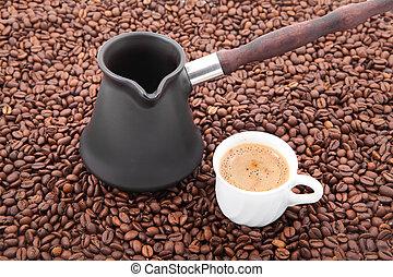 café, tiempo,