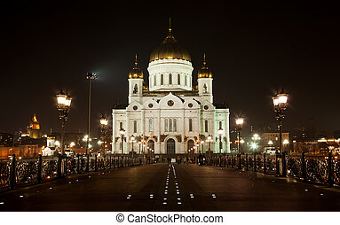 Christ The Saviour Church, Moscow, Russia