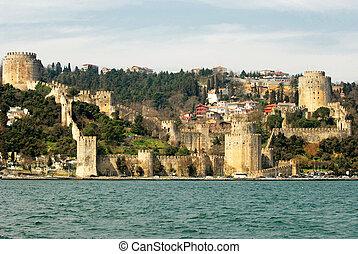 Rumeli Hisari Fortress in Istanbul, Turkey