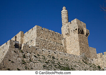 Jerusalem, Tower of David - Tower of david, at the old city...