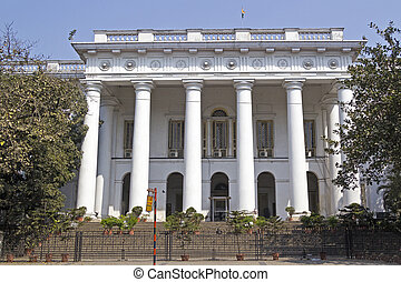 Calcutta Town Hall - Town Hall,famous sight in Calcutta,...
