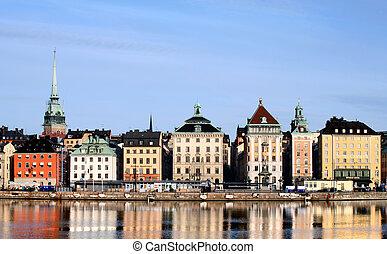 ciudad, Estocolmo