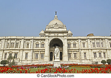 Victoria memorial - Memorial of Queen Victoria in Calcutta