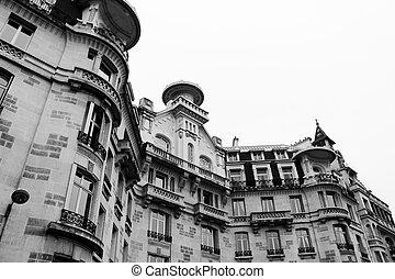 House on the Seine in Paris