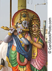 Shrine of Lord Krishna - FEBRUARY 13, VISHAKHAPATNAM, ANDHRA...