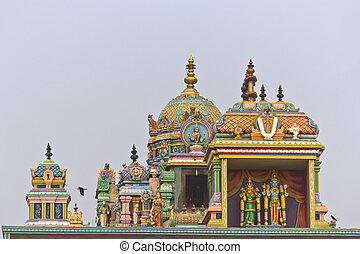 Detail of Ashtalakshmi temple - Detail of Ashtalakshmi...