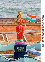 Bharat Mata or Mother India - FEBRUARY 16, 2014,...