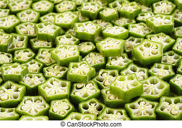 okra cross section