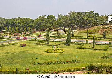 Brindaban Gardens close to Mysore - FEBRUARY 21, 2014,...