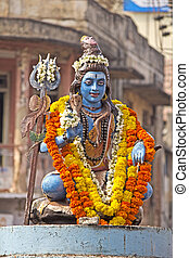Lord Shiva in Mysore - FEBRUARY 22, 2014, MYSORE, INDIA -...