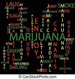 Marijuana background - Illustration of marijuana background...