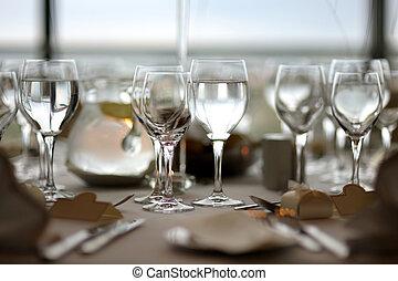 tavola, regolazione, festivo