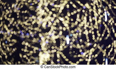 Christmas bokeh - Going down in flames Rasfokus on...
