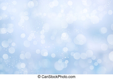 blue blurred colorful background - Abstract blue bokeh...