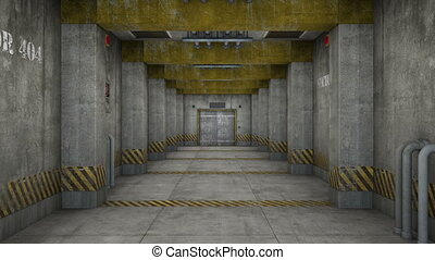 elevator passage - image of elevator passage