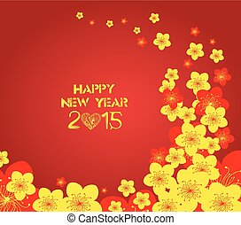 Chinese New Year - Greeting card
