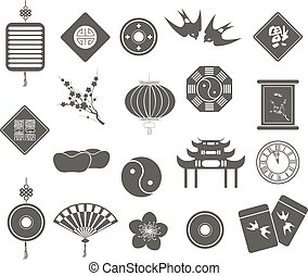 Chinese New Year Icons