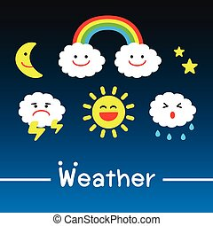 Weather icons - vector great for any use.