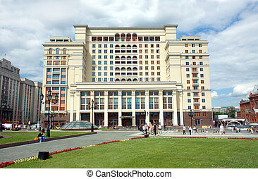 Multifunctional Complex Moskva former hotel Moskva in Moscow...