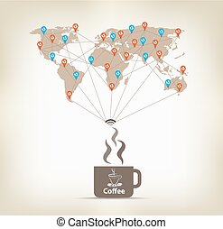 Coffee for global communication