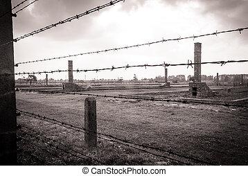 Auschwitz - Nazi Concentration Camp Auschwitz Birkenau...
