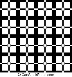 black and white art deco pattern
