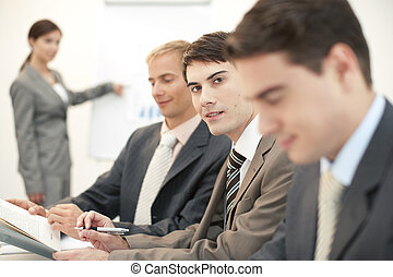 Businesspresentaion - Teamwork
