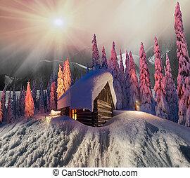 Épület, karácsony