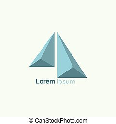 Business Abstract vector logo icon. Finance and banking,...