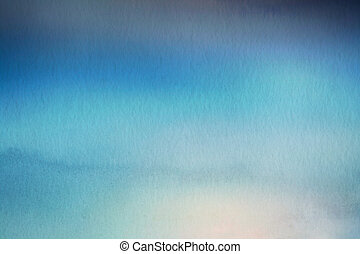 Abstract blur nature background Watercolor paper overlay