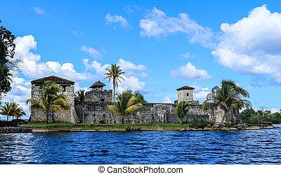 Castillo de San Felipe, Guatemala - Exterior of Castillo de...