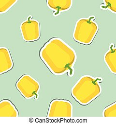 paprika pattern Seamless texture with ripe sweet pepper Use...
