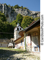 minster - an ancient monastery in the mountains of Bulgaria...