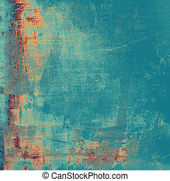Old texture with delicate abstract pattern as grunge...