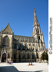 austria, linz, st marys - the new cathedral and st. mary in...