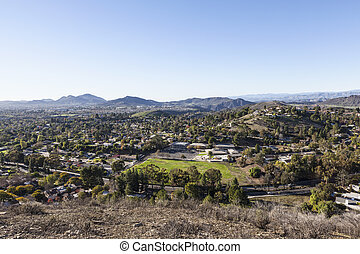 Thousand Oaks in Ventura County California - Suburban...