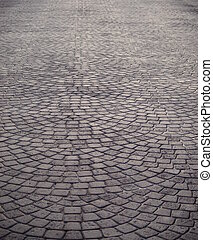Stone floor - Stone patterned street floor
