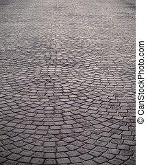 Stone floor - Stone patterned street floor