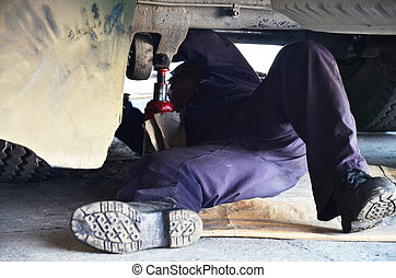 automotive motor car mechanic