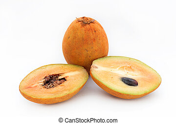 Sapodilla - The fruit is a species of deciduous tree species...