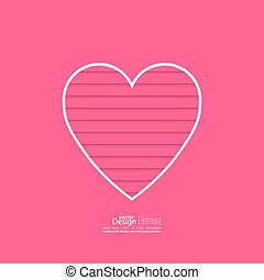 Abstract background with heart. - Abstract background with...