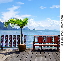 Thailand - Beautiful tropical sea, Krabi Thailand