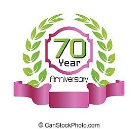 70 year birthday celebration, 60th anniversary