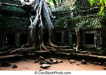South gate of Angkor Thom, Cambodia